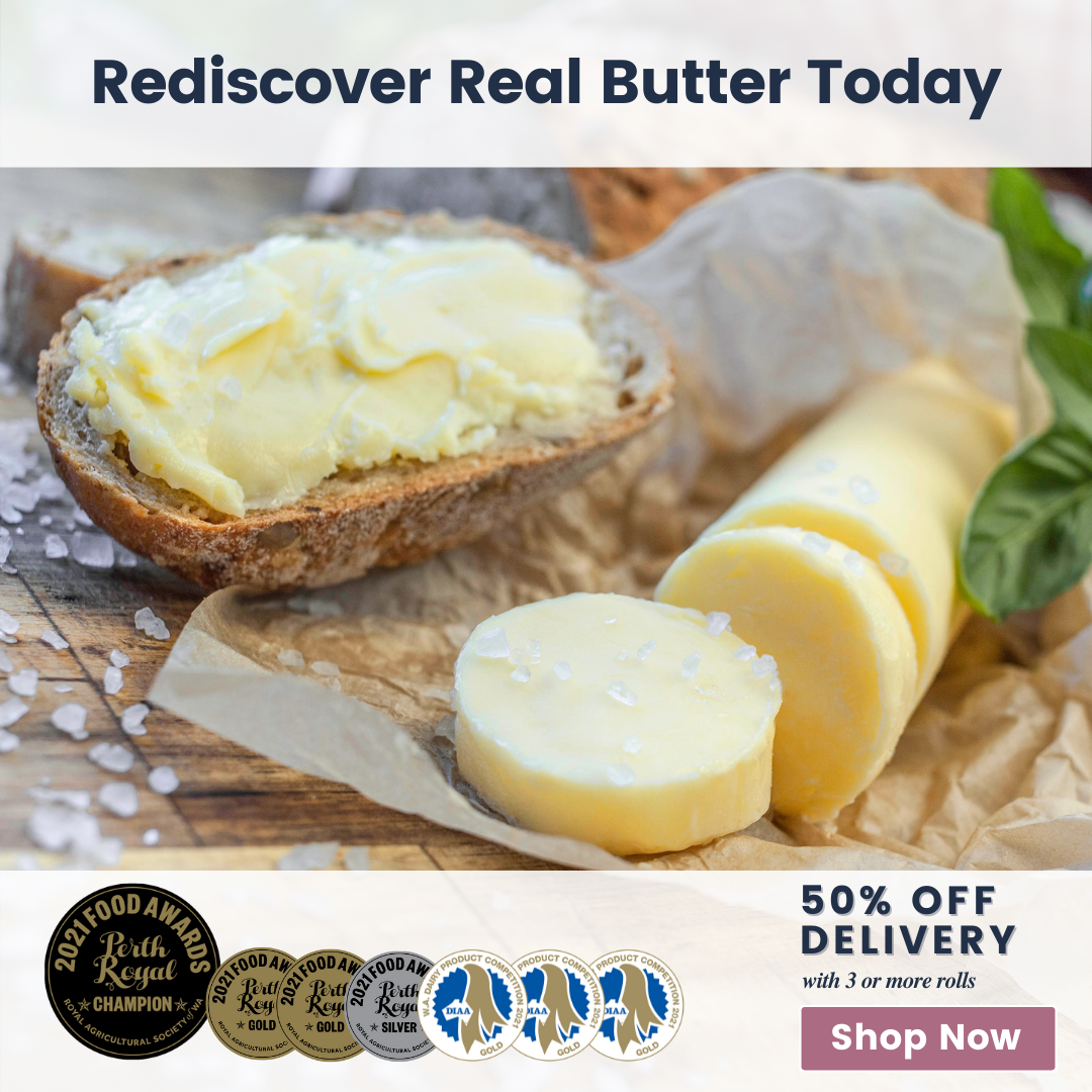 Rediscover Real Butter (Landscape) (Square)