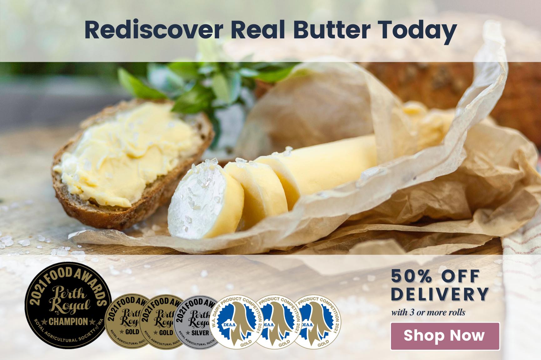 Rediscover Real Butter (Landscape)